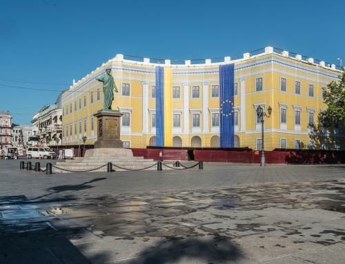 Angekommen in Odessa